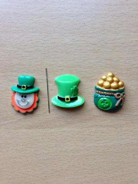 Irish themed Needle Minders